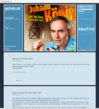 johannkoenig.com, website