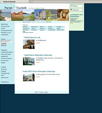 panek-touristik.de, website