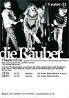 Flyer, theater-xs, Die Räuber, Din A5