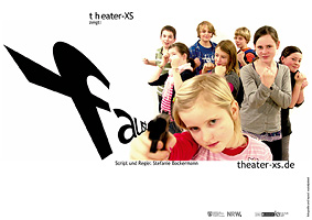 Plakat, theater-xs, Faust, Din A3