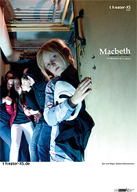 Plakat, theater-xs, Macbeth, Din A3